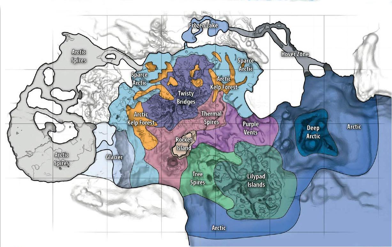 Subnautica Below Zero Map