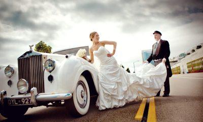 Chauffeur Wedding Car